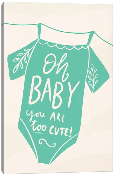 Oh Baby! Canvas Art Print