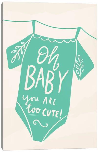 Oh Baby! Canvas Art Print