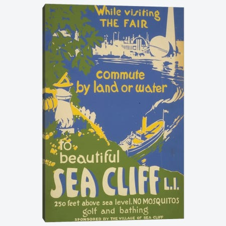 Visit Sea Cliff, L.I. Canvas Print #LOC25} by Library of Congress Canvas Artwork