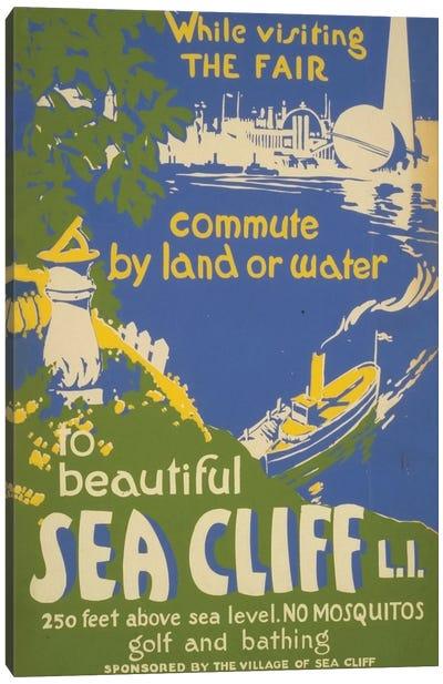 Visit Sea Cliff, L.I. Canvas Print #LOC25