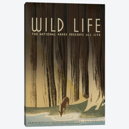 Wild Life Canvas Print #LOC29} by Library of Congress Canvas Art Print