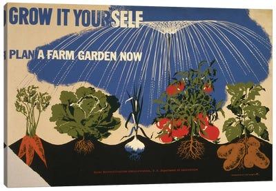 Grow It Yourself Canvas Art Print