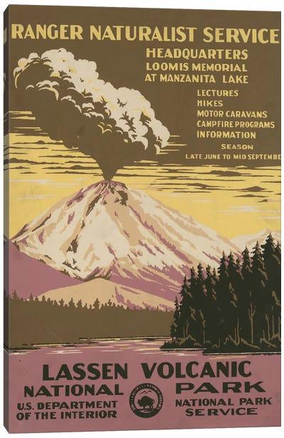 Lassen Volcanic National Park (Ranger Naturalist Service) Canvas Art Print