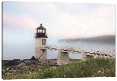 Marshall Point Lighthouse Canvas Art Print