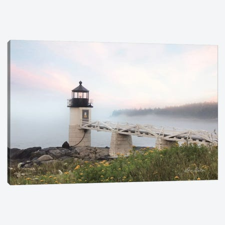 Marshall Point Lighthouse Canvas Print #LOD101} by Lori Deiter Art Print