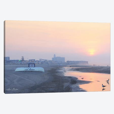 Ocean City Sunrise Canvas Print #LOD106} by Lori Deiter Canvas Art