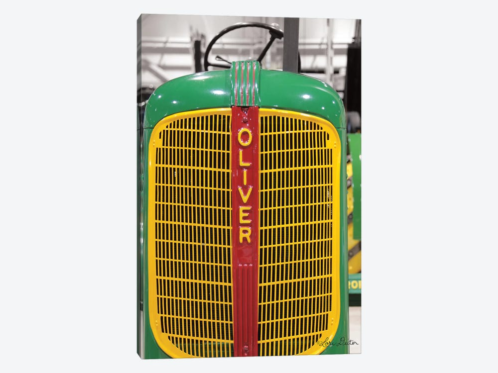 Oliver Tractor by Lori Deiter 1-piece Art Print