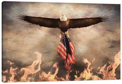 Blaze of Glory Canvas Art Print