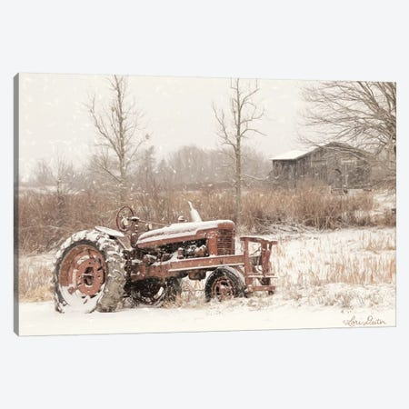 Snow Covered Canvas Print #LOD114} by Lori Deiter Art Print