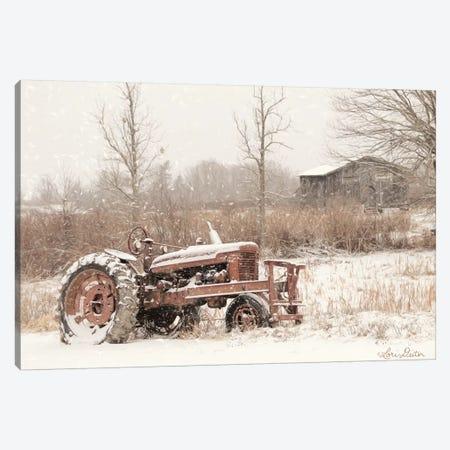 Snow Covered 3-Piece Canvas #LOD114} by Lori Deiter Art Print