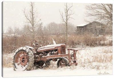 Snow Covered Canvas Art Print