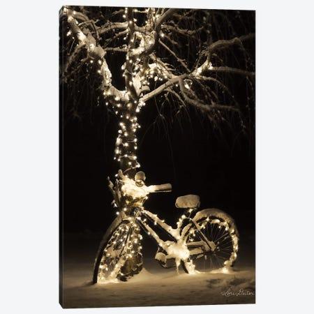 Snowy Bicycle Canvas Print #LOD115} by Lori Deiter Canvas Print