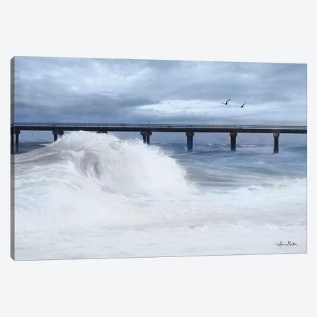 Blue Wave   Canvas Print #LOD11} by Lori Deiter Art Print