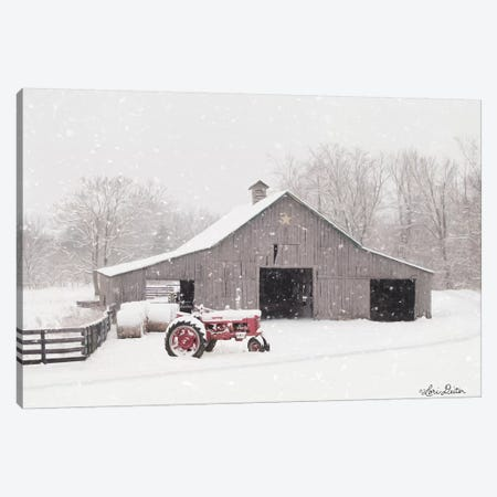 Tractor for Sale Canvas Print #LOD120} by Lori Deiter Art Print