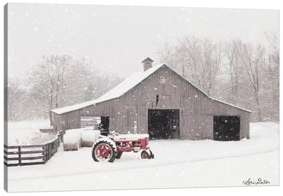 Tractor for Sale Canvas Art Print