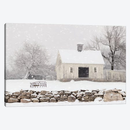 Virginia Snow Storm Canvas Print #LOD122} by Lori Deiter Art Print