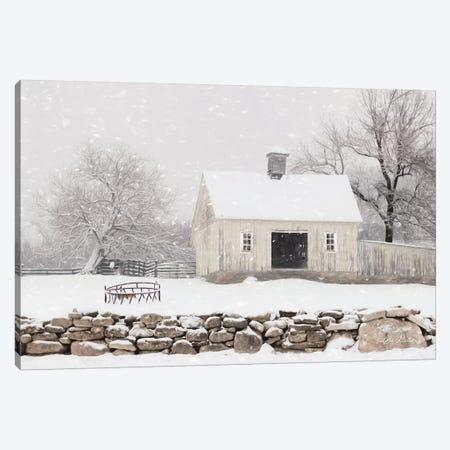 Virginia Snow Storm Canvas Print #LOD122} by Lori Deiter Art Print