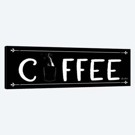 Coffee Banner Canvas Print #LOD12} by Lori Deiter Canvas Print