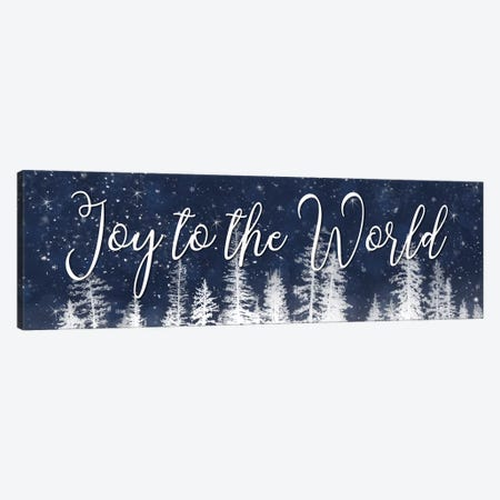 Joy to the World Canvas Print #LOD131} by Lori Deiter Canvas Art