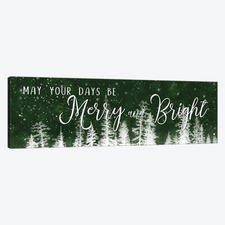 Merry and Bright  Canvas Print #LOD132} by Lori Deiter Canvas Wall Art
