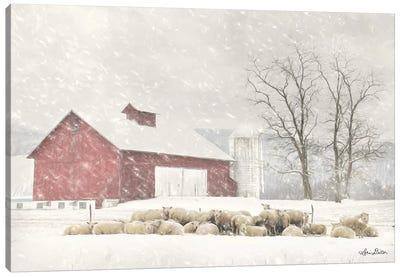Talk is Sheep Canvas Art Print