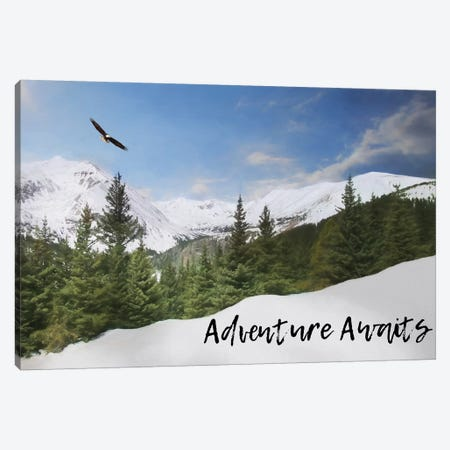 Adventure Awaits Canvas Print #LOD136} by Lori Deiter Canvas Art Print