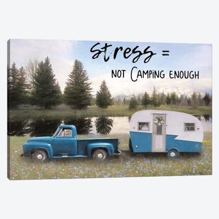 Camping Stress I Canvas Print #LOD140} by Lori Deiter Art Print