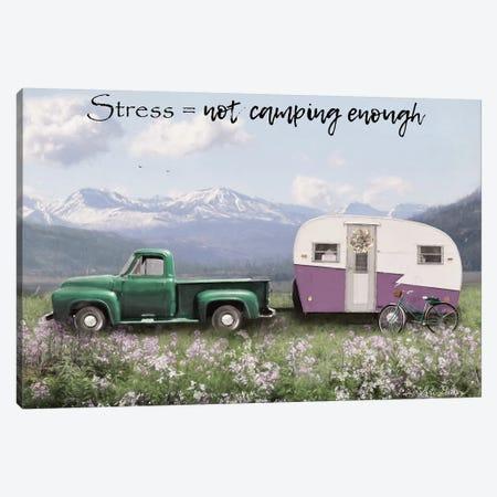 Camping Stress II Canvas Print #LOD141} by Lori Deiter Art Print