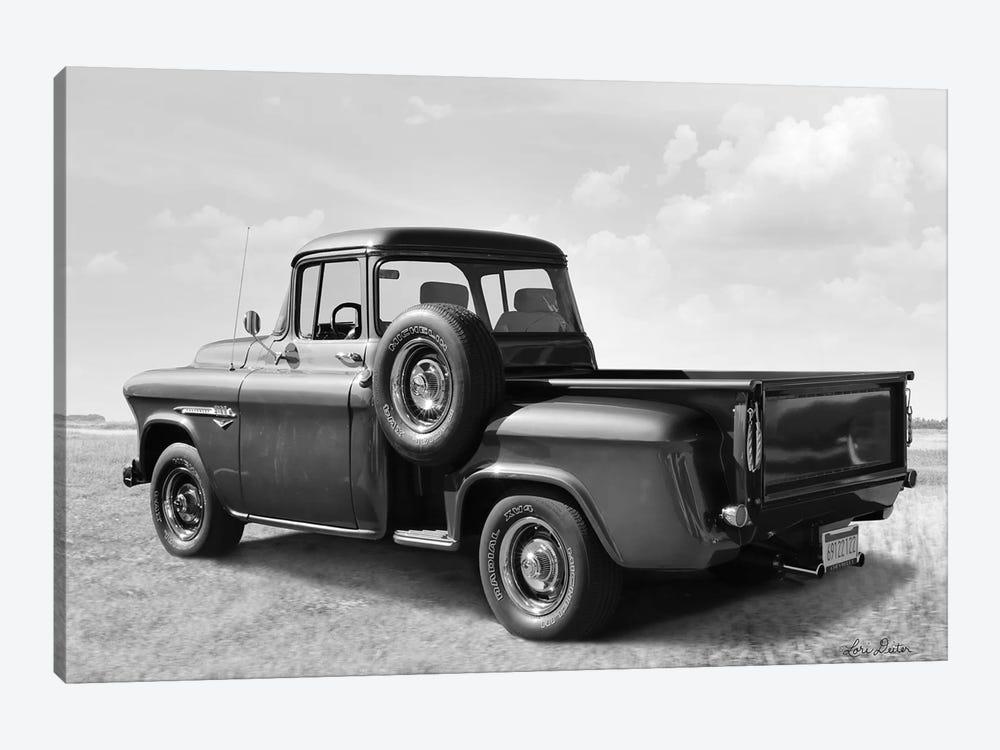 Chevy Truck by Lori Deiter 1-piece Canvas Print