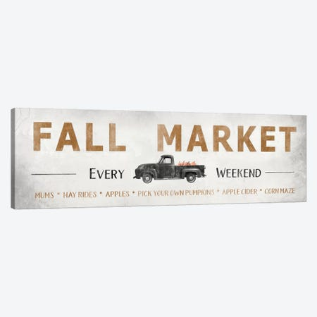 Fall Market   Canvas Print #LOD148} by Lori Deiter Canvas Art Print