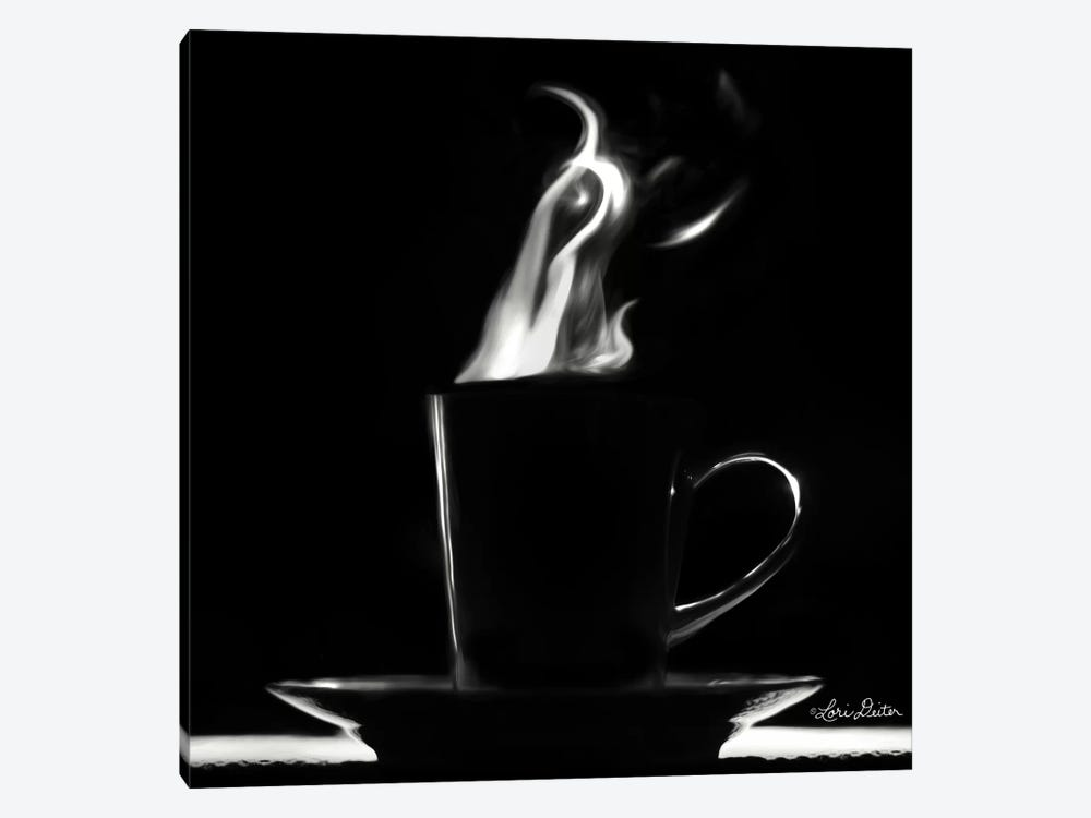 Coffee Time II by Lori Deiter 1-piece Art Print