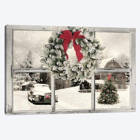 It's Cold Outside  Canvas Print #LOD153} by Lori Deiter Canvas Wall Art