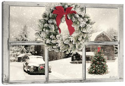 It's Cold Outside  Canvas Art Print