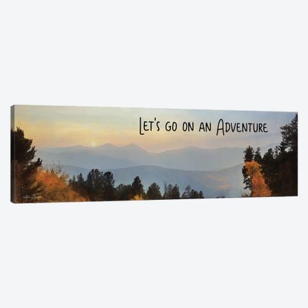 Let's Go on an Adventure Canvas Print #LOD154} by Lori Deiter Canvas Art Print