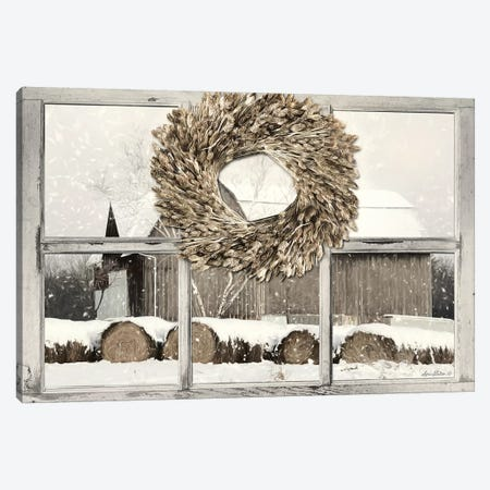 Millersburg Winter View  Canvas Print #LOD155} by Lori Deiter Canvas Art Print