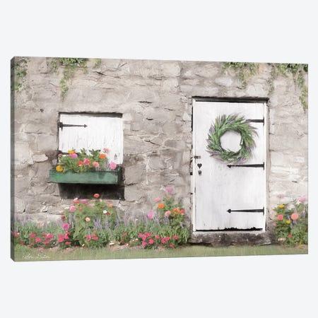 Old Stone Cottage Canvas Print #LOD158} by Lori Deiter Canvas Artwork