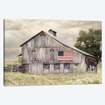 Rural Virginia Barn Canvas Print #LOD160} by Lori Deiter Canvas Art Print