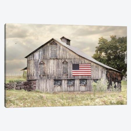 Rural Virginia Barn Canvas Print #LOD160} by Lori Deiter Canvas Art Print