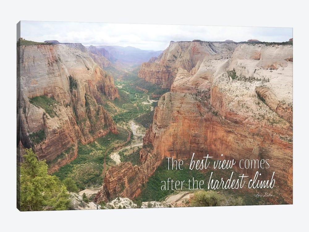 The Best View by Lori Deiter 1-piece Canvas Art Print
