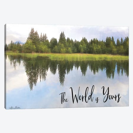 The World is Yours 3-Piece Canvas #LOD163} by Lori Deiter Canvas Print