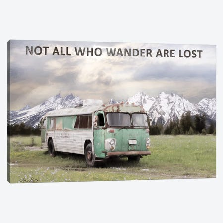 Camping in Style Canvas Print #LOD168} by Lori Deiter Canvas Art Print