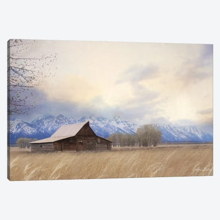 Faith to Move Mountains 3-Piece Canvas #LOD174} by Lori Deiter Canvas Print
