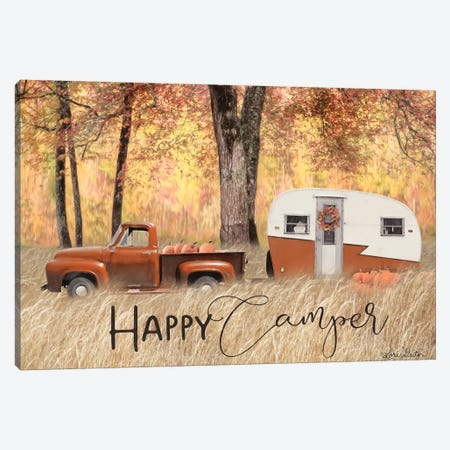 Fall Camping     Canvas Print #LOD175} by Lori Deiter Canvas Art Print