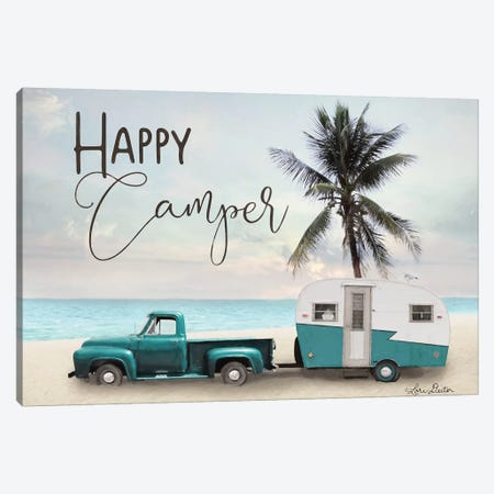 Happy Camper    Canvas Print #LOD180} by Lori Deiter Art Print