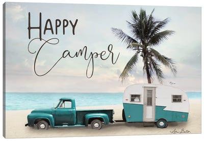 Happy Camper    Canvas Art Print