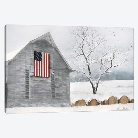 Old Glory Canvas Print #LOD186} by Lori Deiter Canvas Art