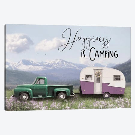 Spring Camping I    3-Piece Canvas #LOD199} by Lori Deiter Canvas Wall Art