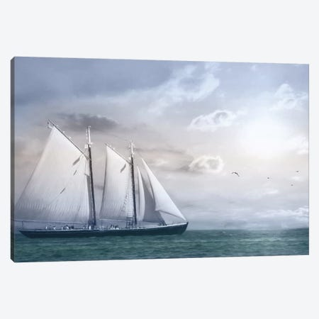 Adventure on the Seas Canvas Print #LOD1} by Lori Deiter Canvas Wall Art