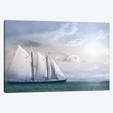 Adventure on the Seas Canvas Print #LOD1} by Lori Deiter Canvas Wall Art