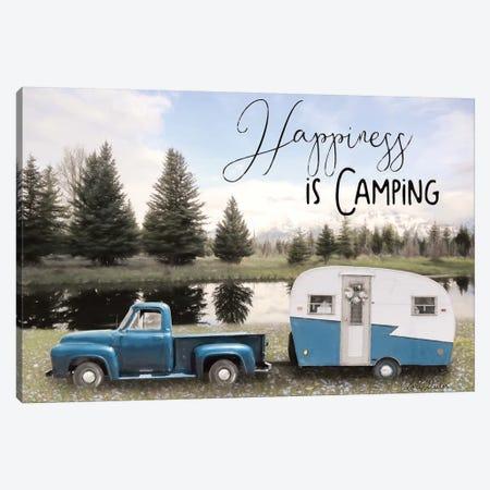 Spring Camping II   3-Piece Canvas #LOD200} by Lori Deiter Canvas Artwork